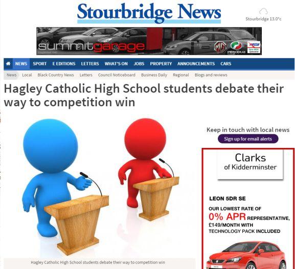 high school issues to debate